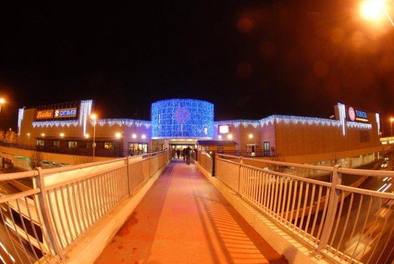 Luminarie per centri commerciali