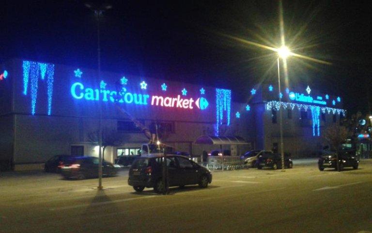 luminarie centri commerciali