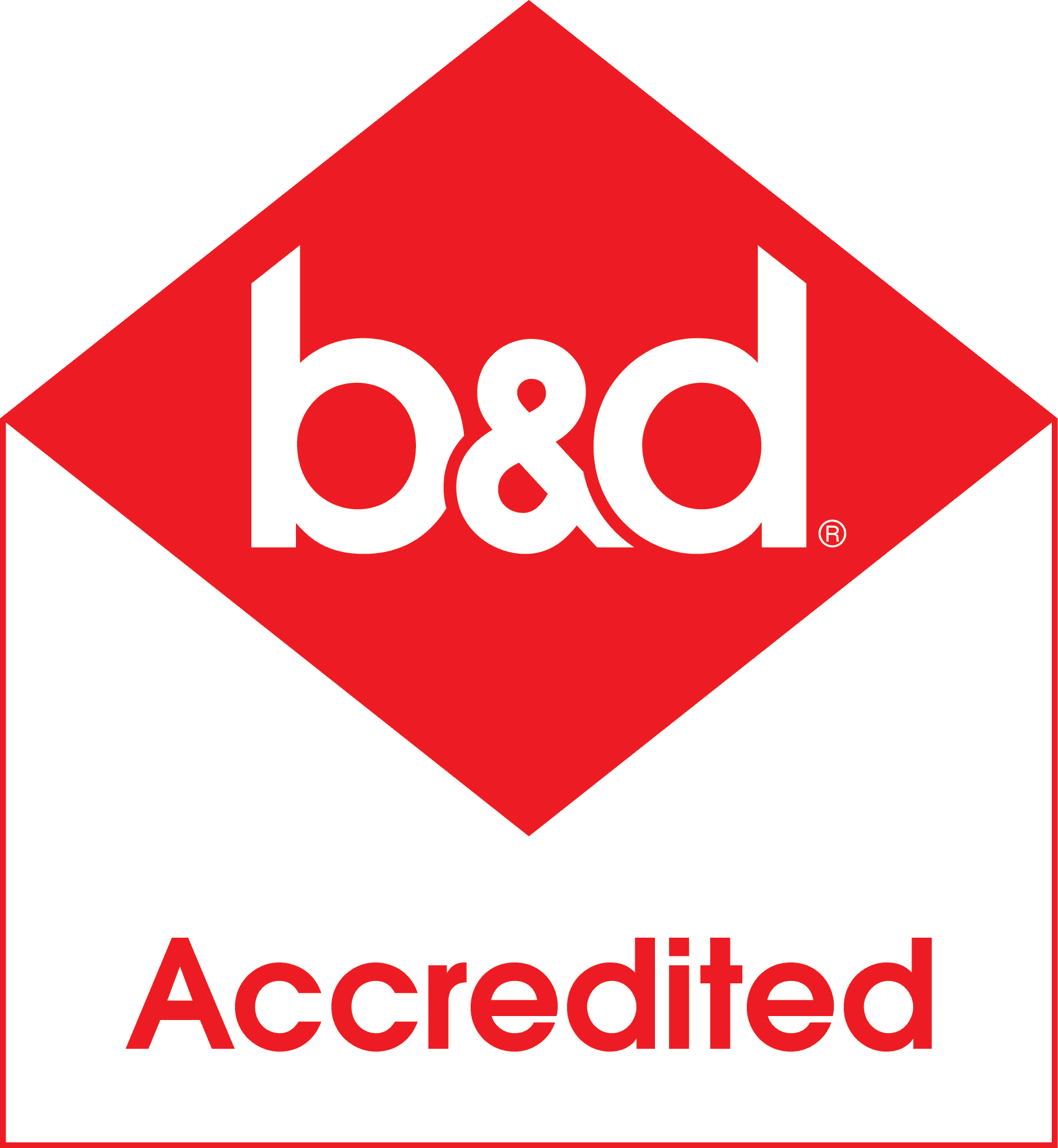 b and d logo