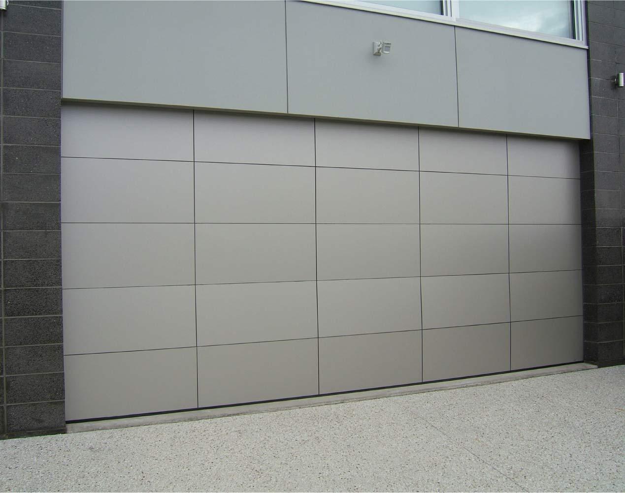 aluminum garage door