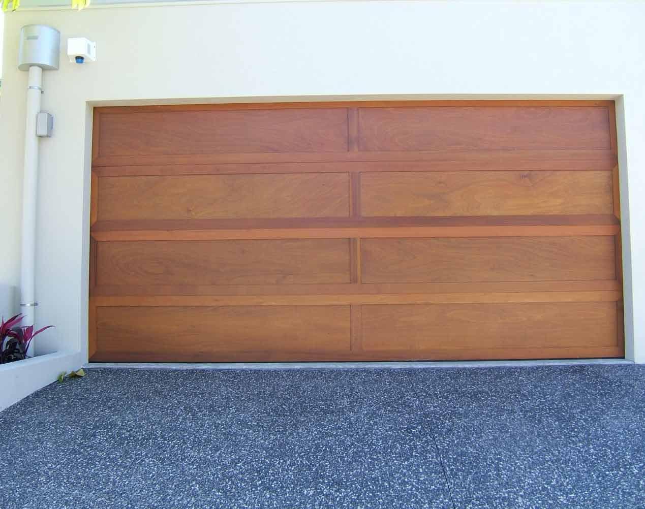 marine ply sectional garage doors