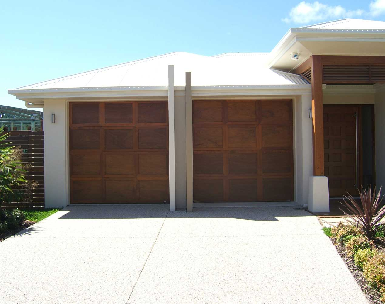 Queensland Custom Garage Door Gallery Noosa Garage Doors