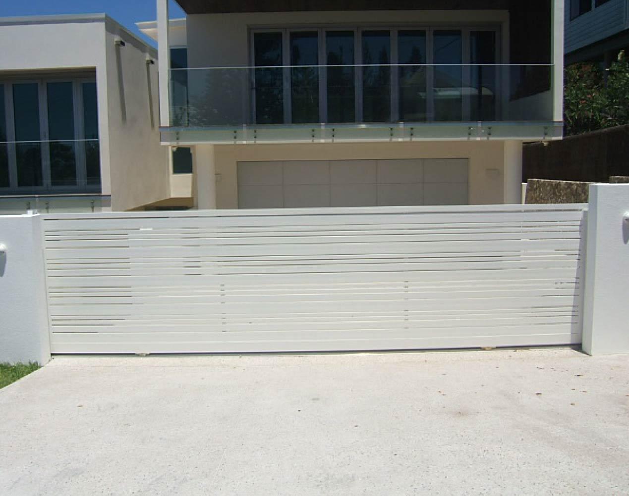 aluminum slide gate