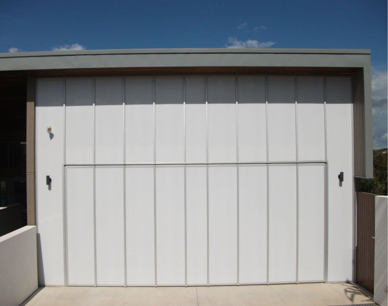 wall acrylic garage door