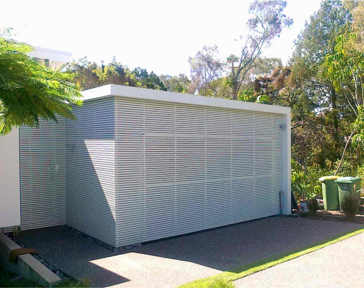 powder coated tilt garage door