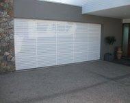 powder coated sectional door