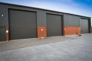 multiple industrial doors