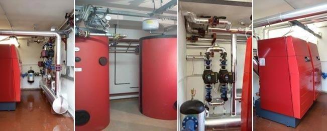 Riqualificazione energetica centrale termica