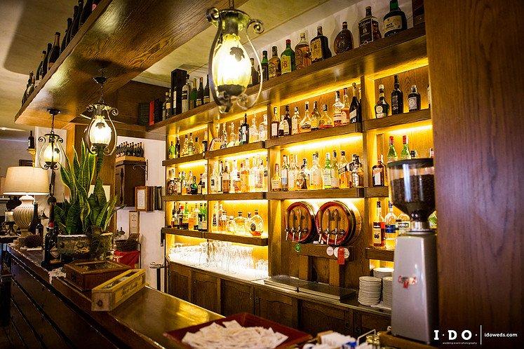 bancone del bar