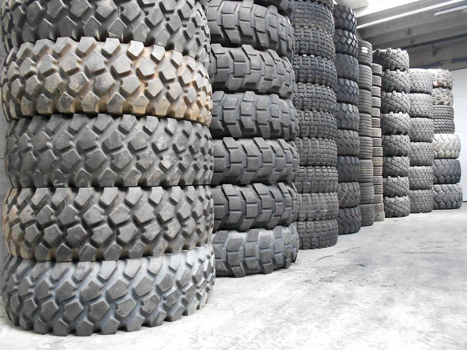 a variety of tyres