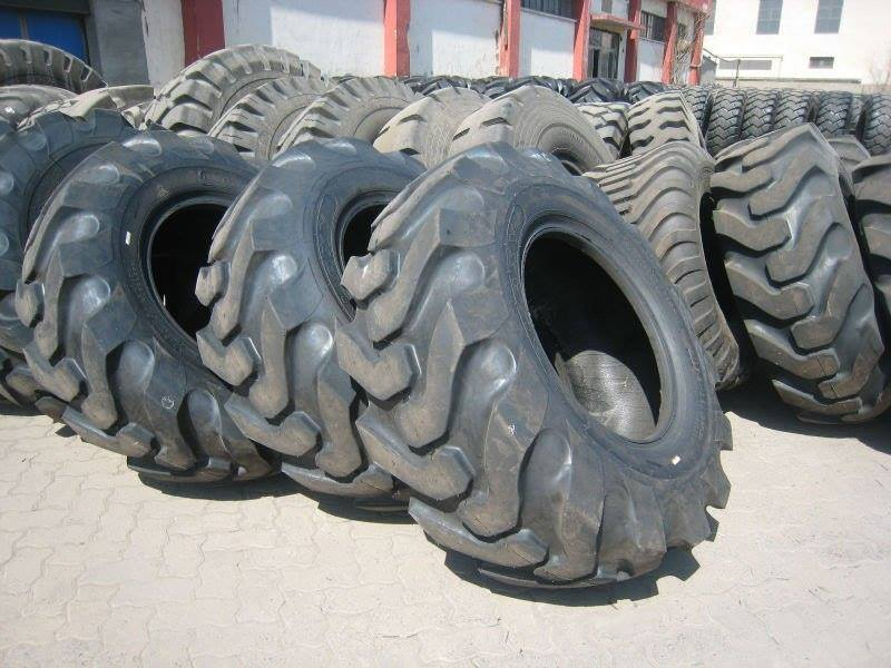 tyres placed on one another