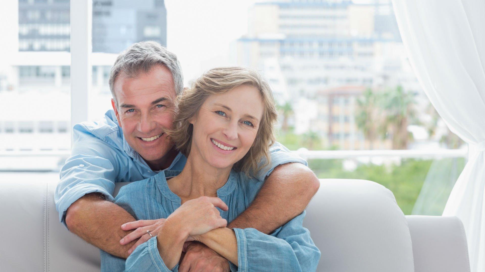 una coppia di pensionati