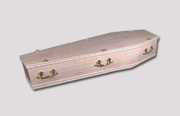 Oakside Wood Effect Coffin