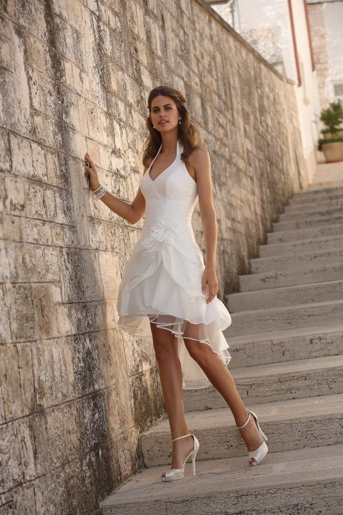 abiti da sposa corti