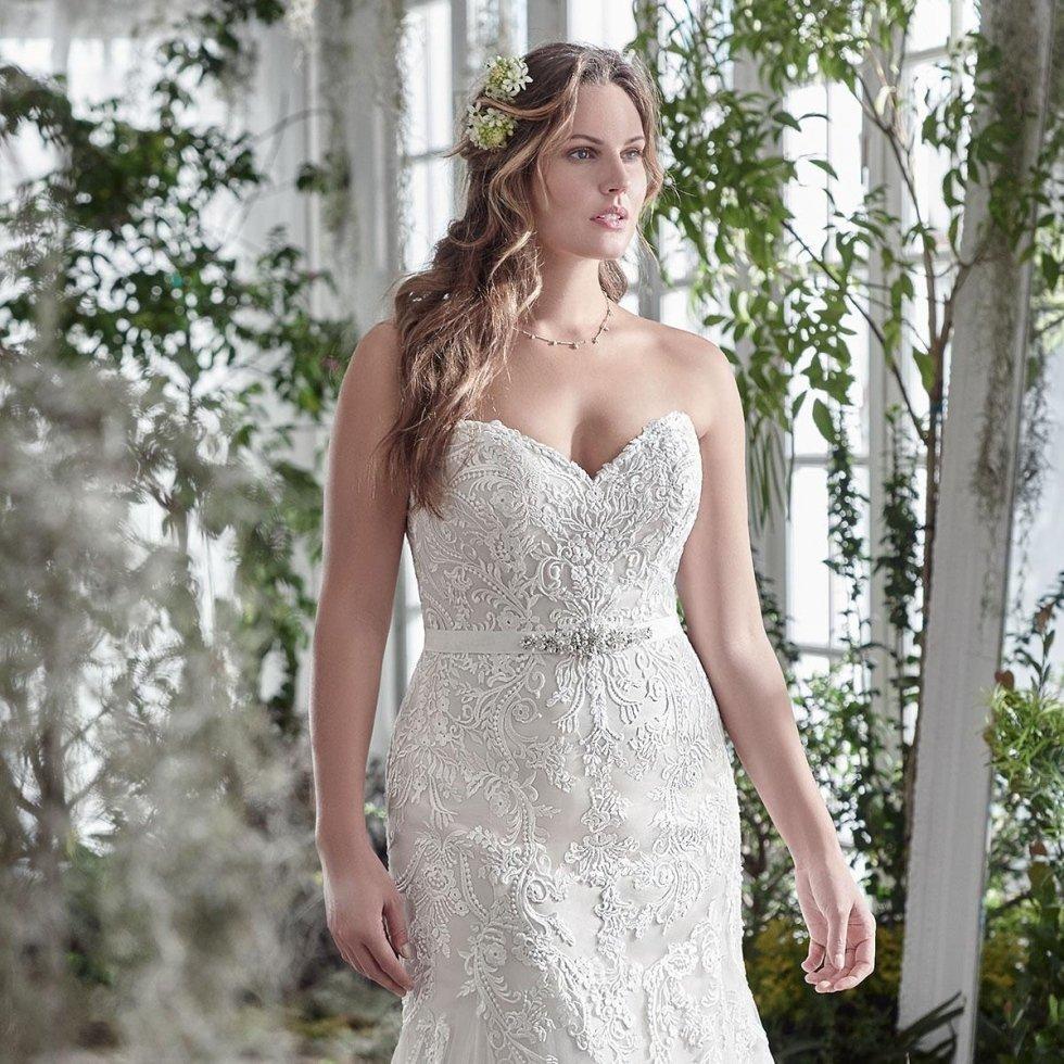 abiti da sposa over size