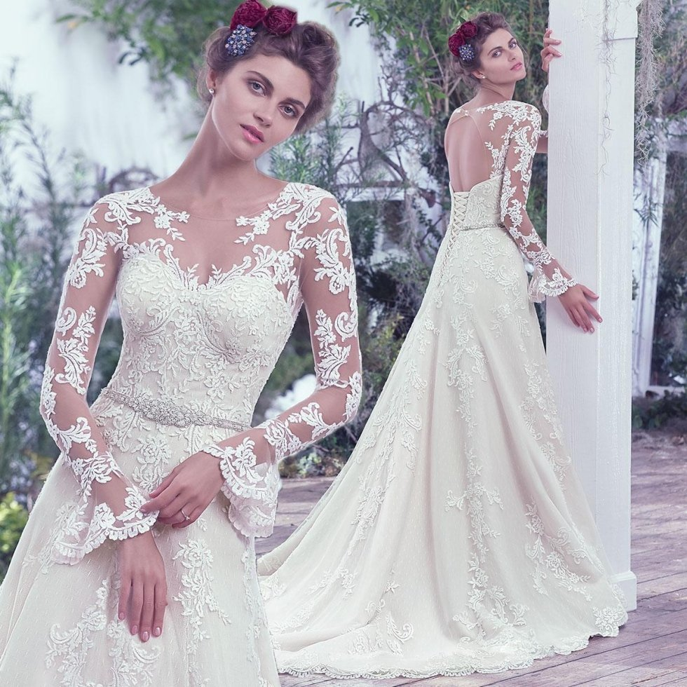 abiti da sposa maniche