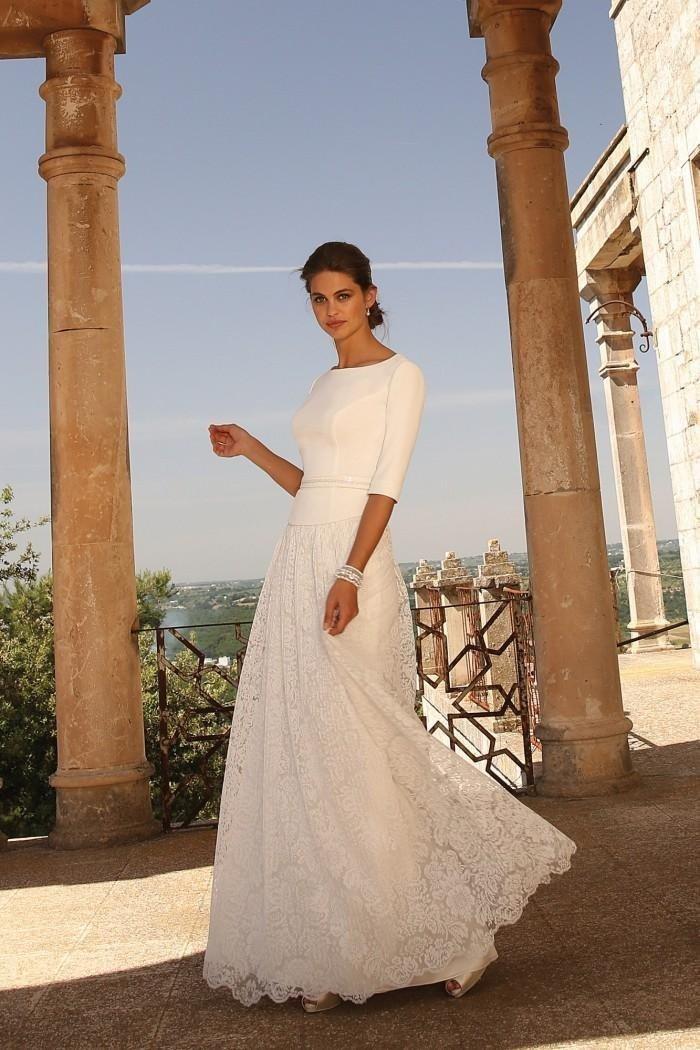 abiti da sposa non tradizionali