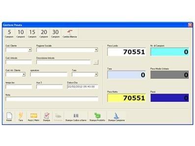 Piece counter software