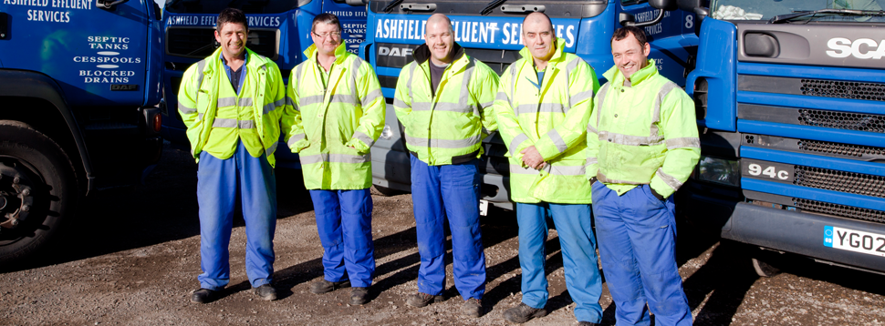 The Ashfield Effluent Services Ltd fleet