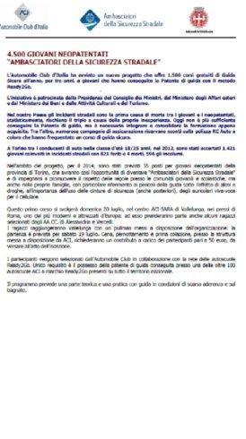 SE SEI INTERESSATO CONTATTA SUBITO L'AUTOSCUOLA