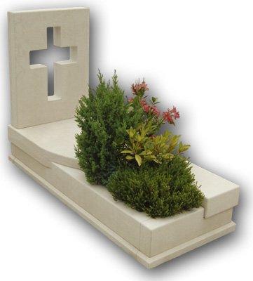 grafica digitale tomba con piante