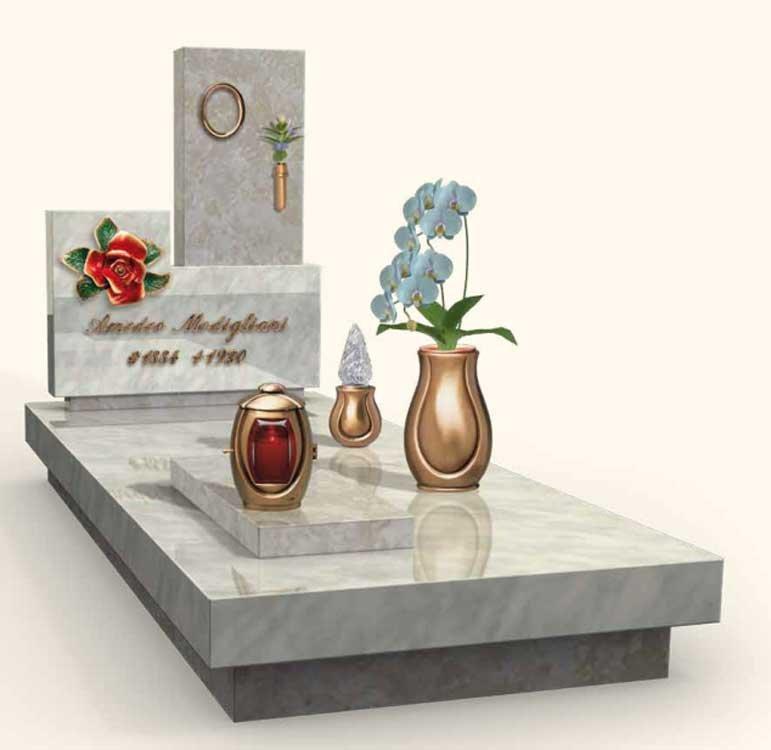 articoli funerari, lapidi, cofani funebri