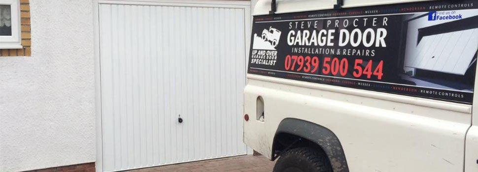 composite garage door