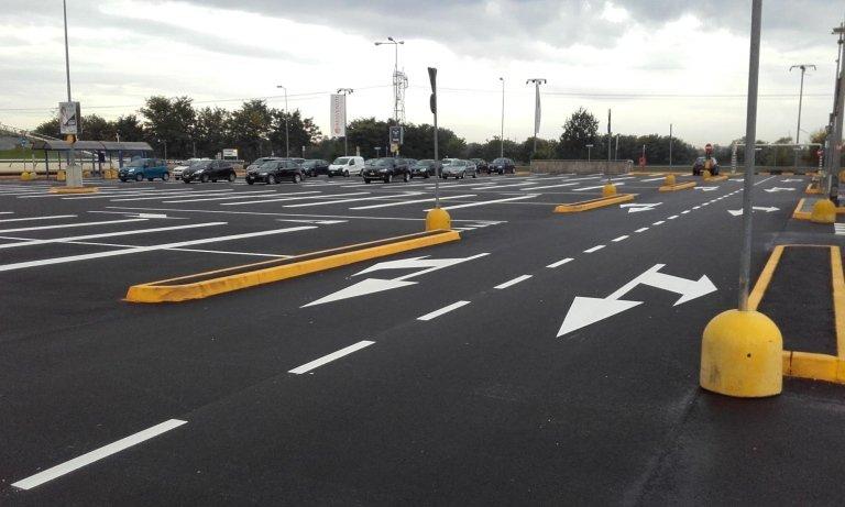 Segnaletica direzionale parcheggi