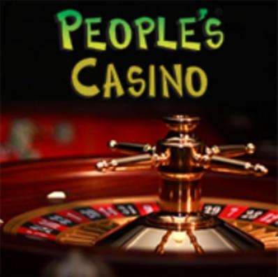 logo people's casino con roulette russa