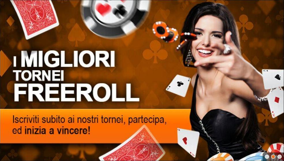 promozione tornei poker