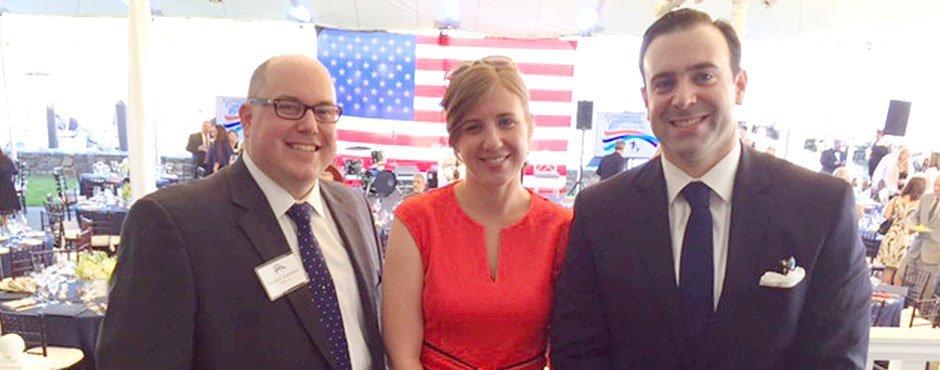 Vin, Marisa, and Chris at Gala 2017