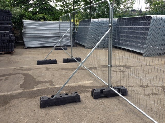 Temporary Fencing And Barrier Fencing In Bradford Yorkshire