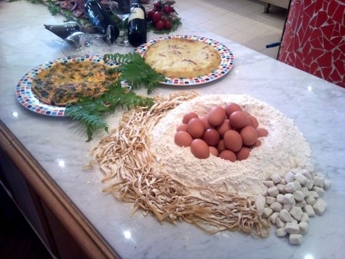 torte salate e specialità locali