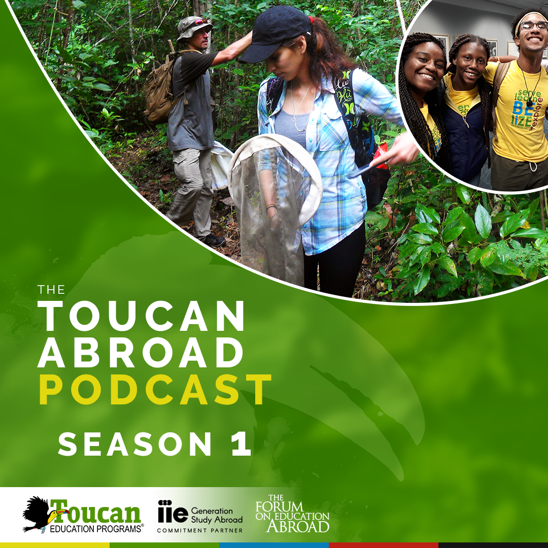The Toucan Abroad Podcast Series - S1:E1