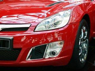 auto rossa garage napoli