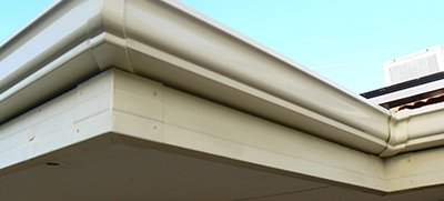 Home with our aluminium gutters in Perth