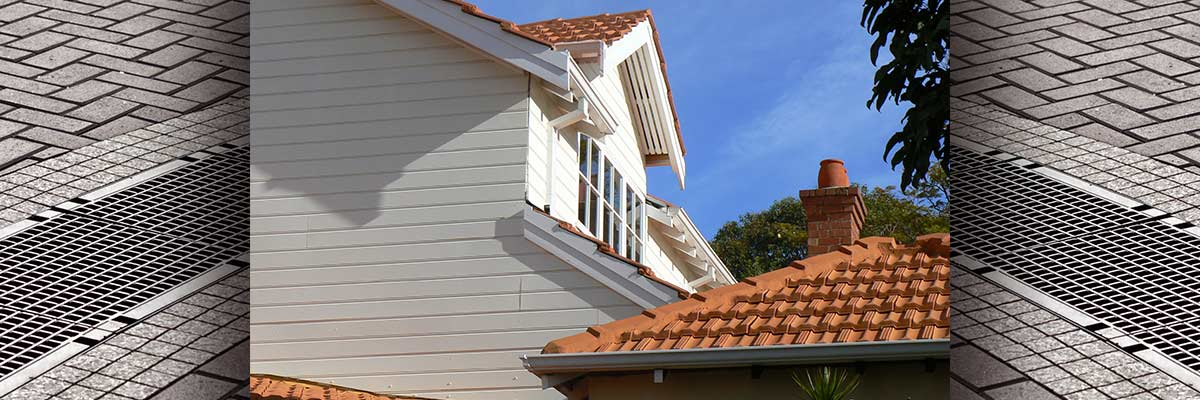 trimview mobile guttering house with brown roof