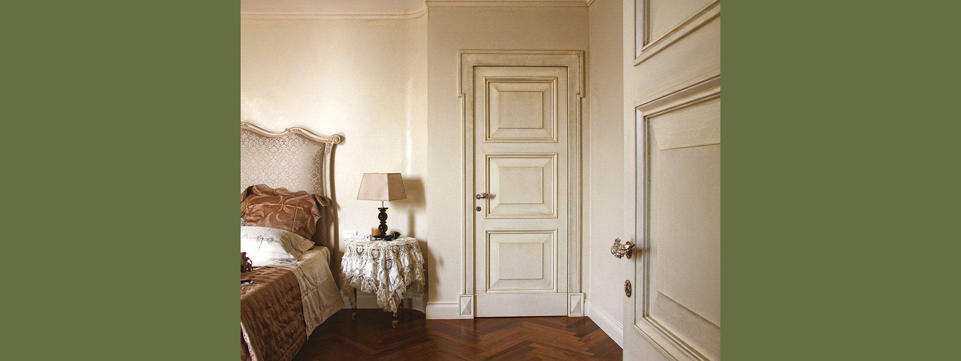 porta per interni in legno massello