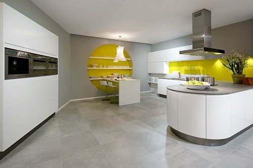 View of a premier German Kitchen Studios in Yorkshire