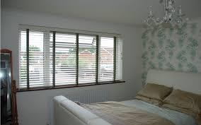 Horizontal Blinds in a bedroom