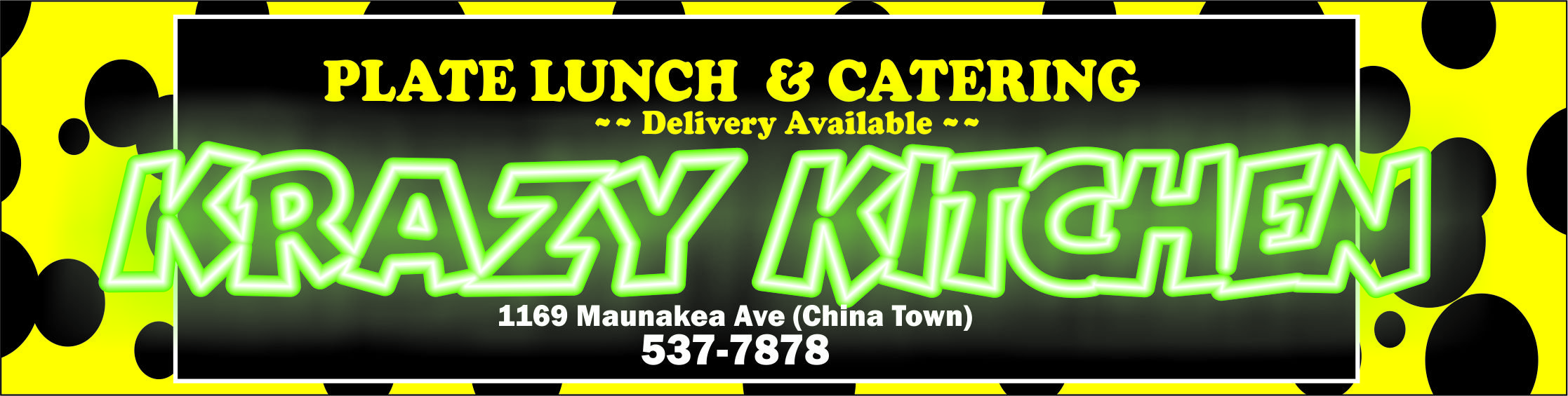 Krazy Kitchen | Hawaiian Food | Honolulu, HI