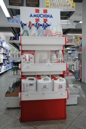 prodotti igienici amuchina