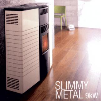 Palazzetti modello Slimmy Metal 9kW