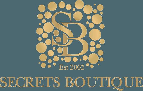 Secrets boutique salon logo