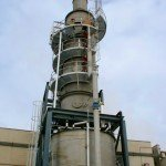 Controlling acid gas lowers respirable particulate emissions
