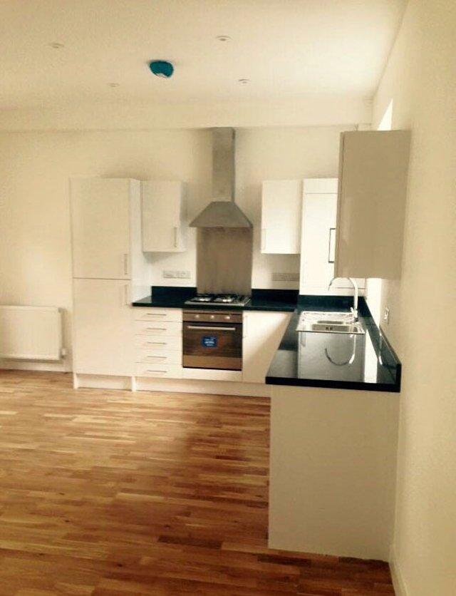 new kitchen in cream theme