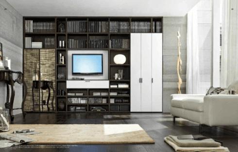 Mobilificio Trombetti propone mobili pareti per soggiorno