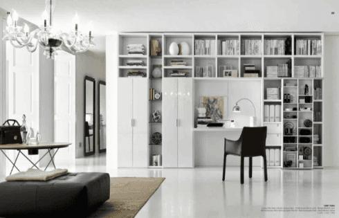Mobile parete per arredare il soggiorno