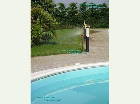 Irrigazione giardini longiano forl cesena irri sistemi for Impianto irrigazione automatico