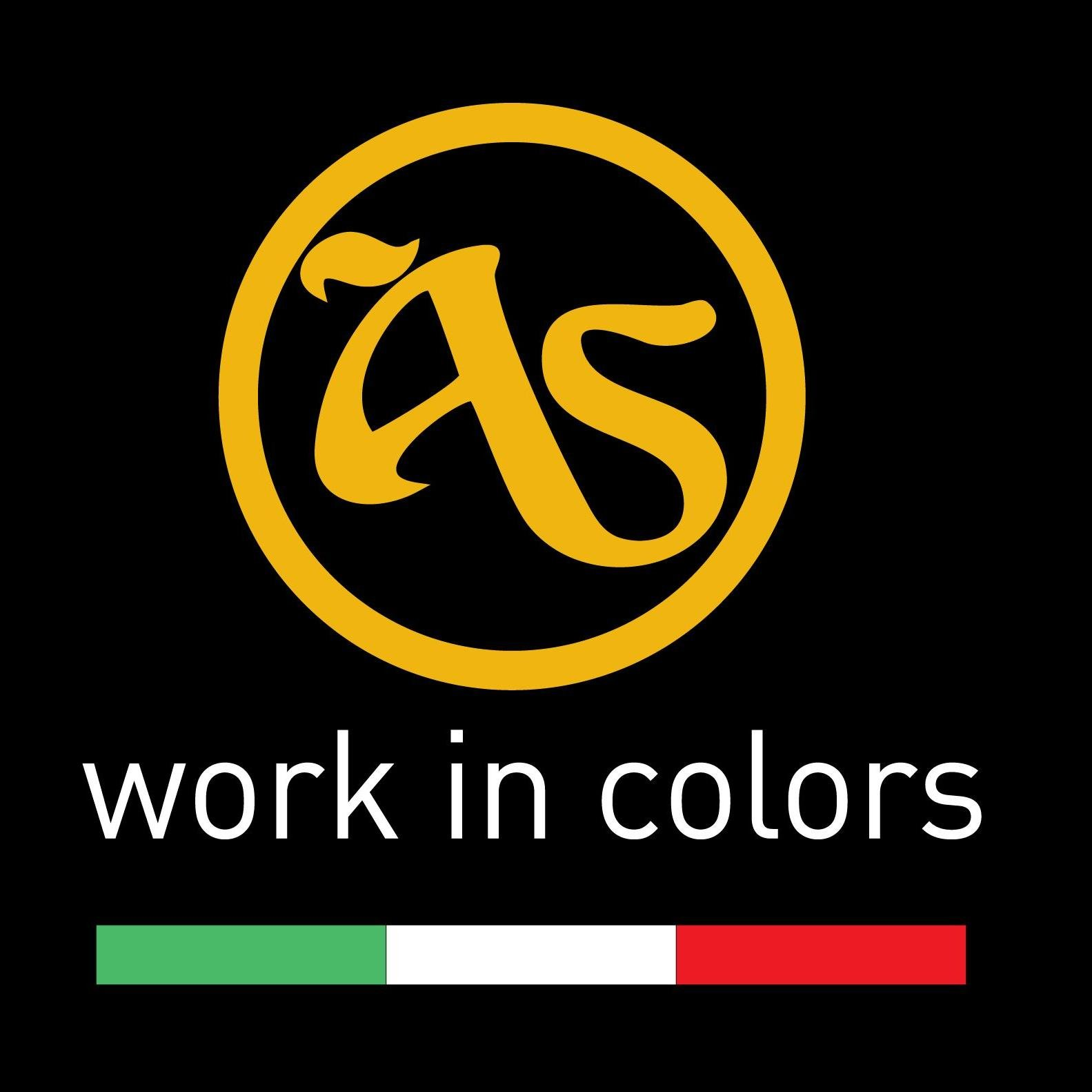 AS work in colors - Logo